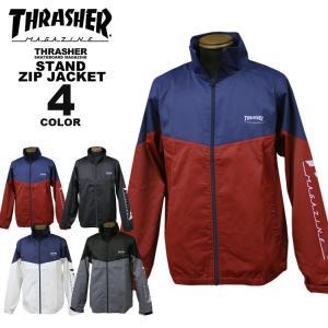 【SALE】 スラッシャー THRASHER ジャケット MAG STAND FULL ZIP JACKET ジップアップ メンズ レディース 全4色 M-XL rifflepage