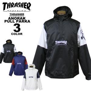 【SALE】 スラッシャー THRASHER アノラック HOMETOWN SK8 GOAT ANORAK PULL PARKA パーカ メンズ レディース 全3色 M-XL rifflepage