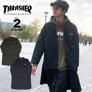 【SALE】 (公式)スラッシャー ジャケット THRASHER HOMETOWN ENGINEER JACKET コート COAT メンズ レディース 全2色 M-L rifflepage