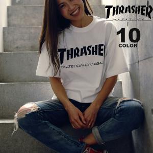 スラッシャー THRASHER ロゴT MAG LOGO Tシャツ メンズ レディース 定番デザイン 全10色 S-XXL|rifflepage