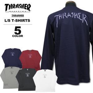 スラッシャー THRASHER ロンT GONZ ART ロングTシャツ メンズ レディース 定番プリント 全5色 S-XXL|rifflepage
