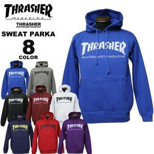 スラッシャー THRASHER トレーナー パーカー MAG LOGO SWEAT PARKA プルオーバーパーカ メンズ レディース 裏起毛 全8色 S-XXL|rifflepage