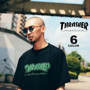 スラッシャー Tシャツ THRASHER Tシャツ Dot HOMETOWN S/S T-SHIRTS ロゴ TEE メンズ レディース 全6色 S-XL|rifflepage