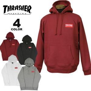 (公式)スラッシャー パーカー THRASHER HOMETOWN RED HOODIE SWEAT PARKA プルオーバー パーカ スエット メンズ レディース 裏起毛スウェット 全4色 S-XL rifflepage