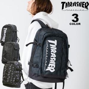 (公式)スラッシャー リュック バッグ THRASHER BACK PACK 30L デイバック バックパック メンズ レディース ユニセックス 全3色|rifflepage
