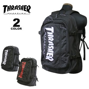 スラッシャー リュック バッグ THRASHER BACK PACK 30L デイバック バックパック メンズ レディース ユニセックス 全2色(公式)|rifflepage