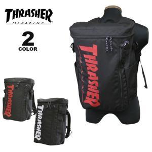 スラッシャー リュック バッグ THRASHER BACK PACK BOX 25L デイバック バックパック メンズ レディース ユニセックス 全2色(公式)|rifflepage