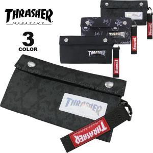 (公式)スラッシャー ウォレット 財布 THRASHER LONG WALLET 長財布 メンズ レディース ユニセックス 全3色|rifflepage