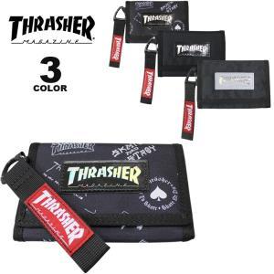 (公式)スラッシャー ウォレット 財布 THRASHER WALLET メンズ レディース ユニセックス 全3色|rifflepage