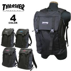 (公式)スラッシャー リュック バッグ THRASHER BENCHMARK FLAP BACK PACK 23L デイバック バックパック メンズ レディース ユニセックス 全4色|rifflepage