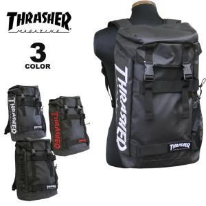 スラッシャー リュック バッグ THRASHER EMB COATING BACK PACK 25L デイバック バックパック メンズ レディース ユニセックス 全3色(公式)|rifflepage