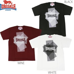 LONSDALE PRINT T-SHIRTS(ロンズデール 半袖Tシャツ JUN SKY WALKER(S) 宮田和弥デザイン)セール SALE|rifflepage