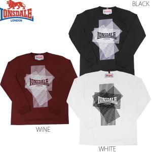 LONSDALE PRINT L/S T-SHIRTS(ロンズデール 長袖Tシャツ ロンTEE JUN SKY WALKER(S) 宮田和弥デザイン)セール SALE|rifflepage