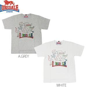 LONSDALE PRINT T-SHIRTS(ロンズデール 半袖Tシャツ 黒猫チェルシー 渡辺大知デザイン)セール SALE|rifflepage