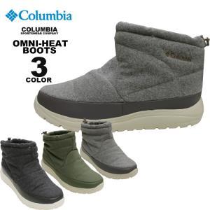 コロンビア スポーツウェア Columbia ブーツ SPINREEL WATERPROOF OMNI-HEAT MINI BOOTS ウォータープルーフ 防水 保温 全3色 24cm-28cm メンズ レディース ユニ|rifflepage