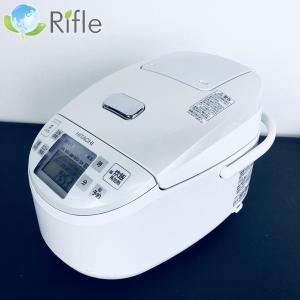 【値下げ】中古 日立 HITACHI 炊飯器 2017年製 5.5号炊き ホワイト RZ-VX100...