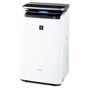 空気清浄機 シャープ SHARP 新品 加湿空気清浄機 KI-JP100-W ホワイト 空気清浄 4...