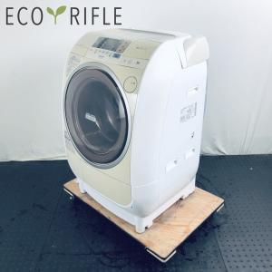 洗濯機 ドラム式 ファミリー 中古 2009年製 日立 HITACHI ドラム式洗濯機 9.0kg ...