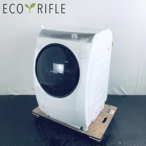 洗濯機 ドラム式 一人暮らし 大きめ 右開き 中古 東芝 TOSHIBA ドラム式洗濯機 2014年...