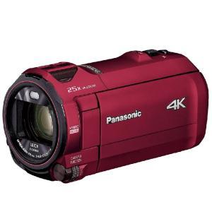デジタルビデオカメラ パナソニック Panasonic HC-VX992M アーバンレッド 4K 64GB 4K AIR 傾き補正 手振れロック 4KハイプレシジョンAF
