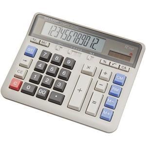 シャープ 実務電卓 デスクトップタイプ 12桁 CS-2135L riftencom