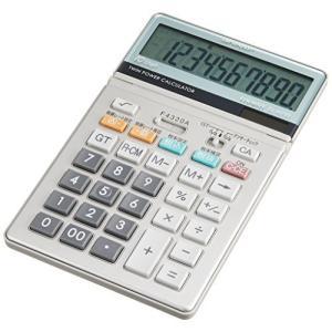 シャープ デザイン電卓 グラストップ調 EL-N731-X ナイスサイズ riftencom