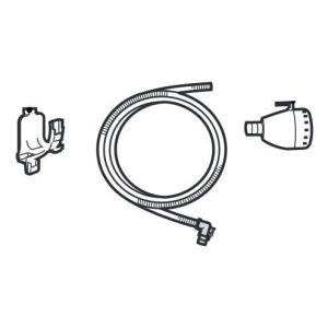 SHARP 風呂水ホース4m・風呂水フィルター・風呂水ホースハンガーホルダー セット 2103600518|riftencom