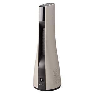 シャープ スリムイオンファン HOT & COOL(リモコン付 ゴールド系ピンクゴールド)【送風・温風兼用】SHARP 「高濃度プラズマクラスター25|riftencom