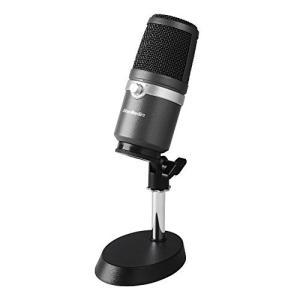 AVerMedia USBマイクロホン AM310 [ゲーム実況/ライブ動画配信 高音質の配信/録音に向いているコンデンサーマイクロホン 単一指向性マ|riftencom