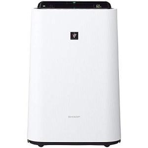 シャープ 加湿 空気清浄機 プラズマクラスター 7000 スタンダード 13畳 / 空気清浄 23畳 2017年モデル ホワイト KC-H50-W|riftencom