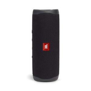 JBL FLIP5 Bluetoothスピーカー IPX7防水/USB Type-C充電/パッシブラジエーター搭載/ポータブル ブラック JBLFLI|riftencom