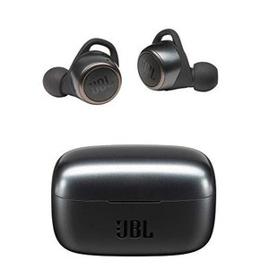 JBL LIVE300TWS 完全ワイヤレスイヤホン アプリ対応/IPX5/Bluetooth対応/タッチ操作/ボイスアシスタント機能対応/ブラック【|riftencom