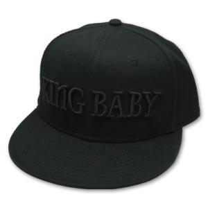 キングベイビー/KingBabyStudio キャップ・帽子 キングベイビーハット ブラック/ブラック|rifu