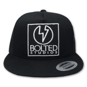 ボルテッドスタジオ/BOLTED STUDIOS キャップ・帽子 トラッカーキャップ スクエアパッチ|rifu|02