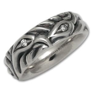 ロンワンズ/レナードカムホート/LONE ONES リング/指輪 ラブバイトw/ダイヤモンド rifu