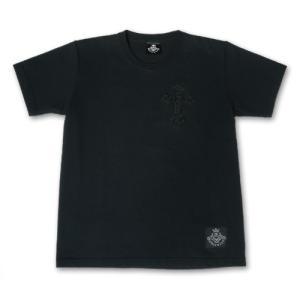 ガボラトリー/ガボール Gaboratory/Tシャツ エンブロイダリー Tシャツ(ブラック)|rifu