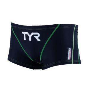 TYR メンズ水着 競泳 練習用 ショートボクサー水着 BSLID-20S-BKLM|rightavail