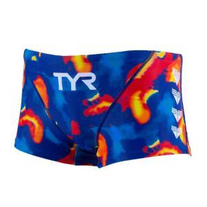 TYR メンズ水着 ショートボクサー水着 BTIED-20S-ORML|rightavail