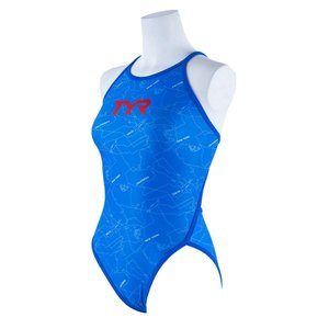TYR レディース水着 競泳 練習用 ワンピース水着 FCMAP-20S-BL|rightavail