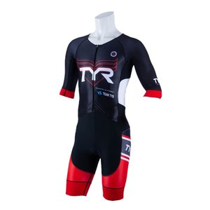TYR(ティア) トライアスロン用 メンズ半袖トライスーツ SMLG1-20S-RD|rightavail