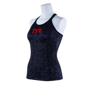 TYR レディース水着 セパレート水着 (トップス)TCAMO-20S-BK|rightavail