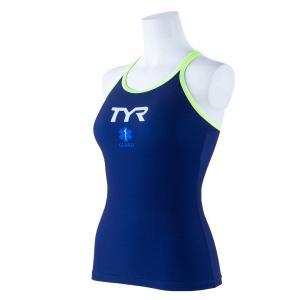 TYR レディース水着 セパレート水着 (トップス)TLIFE-20S-YL|rightavail
