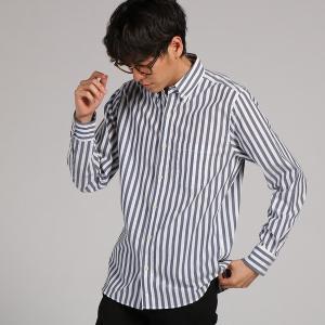 (バックナンバー)BACK NUMBER 太ストライプシャツ...