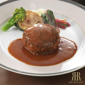 柔らかい食感が魅力のハンバーグ。ご家庭で召し上がる、まるで手ごねハンバーグのような食感を再現するため...