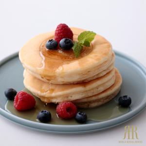 ホットケーキ ふわっふわバニラホットケーキ4枚入 (冷凍便)  リーガロイヤルホテル 朝食