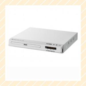 DVDプレーヤー CPRM再生可能 HDMI端子・HDMIケーブル付属 ホワイト DVD-V015-WH【×メール便不可】