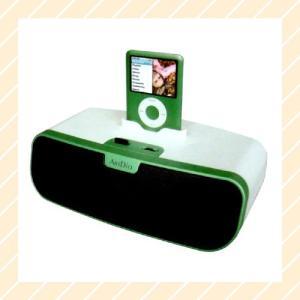 ドックコネクタ搭載のiPhone iPod専用ポータブルスピーカーシステム MS-780GM Dockコネクタ IPOD スピーカー|rijapan