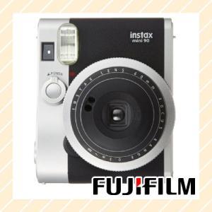 チェキ  INSTAX MINI90 ブラック INSTAX-MINI90-BLACK【×メール便不可】|rijapan