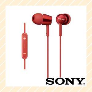 イヤホン インナーイヤーレシーバー iPod iPhone iPad 対応 密閉型 レッド MDR-EX150IP R SONY ソニー|rijapan