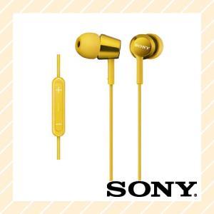 イヤホン インナーイヤーレシーバー iPod iPhone iPad 対応 密閉型 イエロー MDR-EX150IP Y SONY ソニー|rijapan